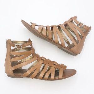 Sam Edelman Beck Leather Gladiator Sandals